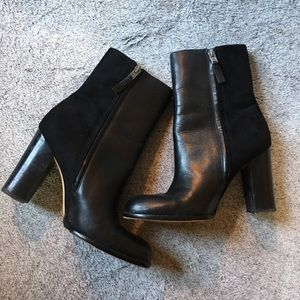 Sam Edelman Black Heeled Booties